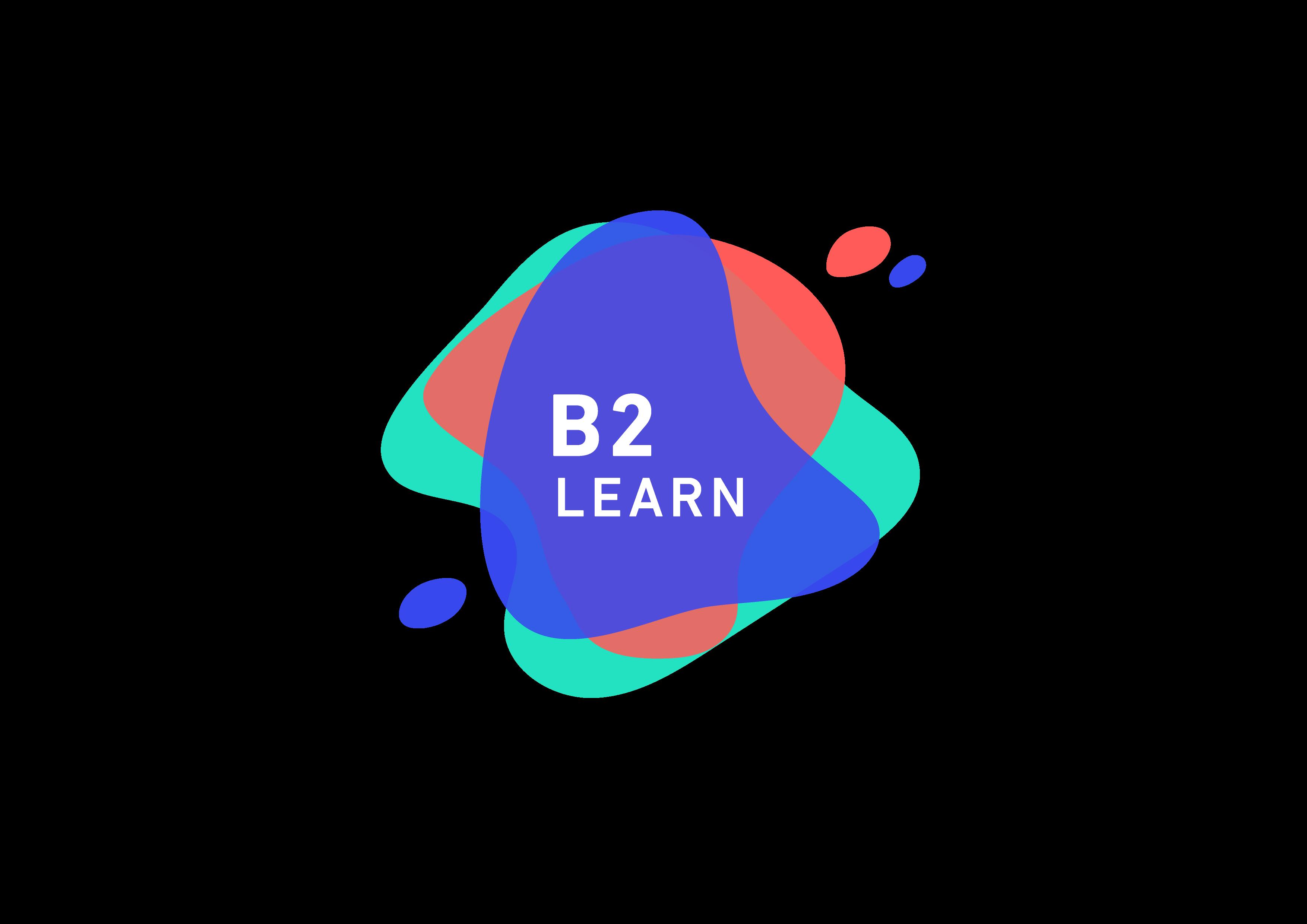 LOGO B2 LEARN